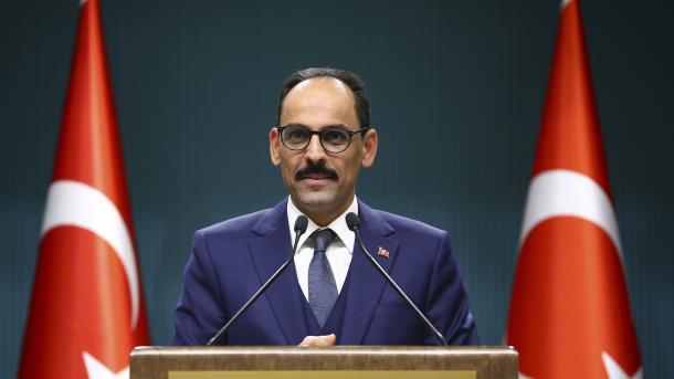 Kalin: Evropa duhet t'u jetë mirënjohëse ushtarëve turq | TRT  Shqip