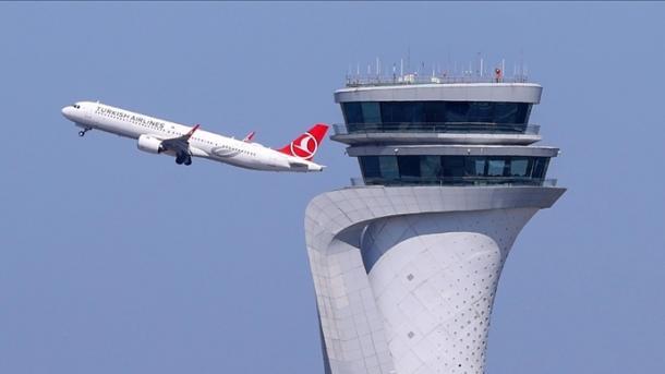 Aeroporti i Stambollit kryeson në Evropë me 979 fluturime në ditë   TRT  Shqip