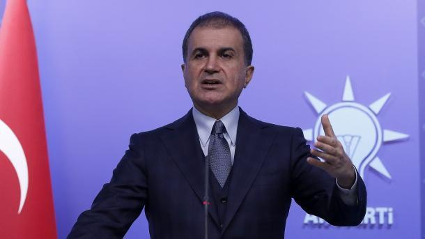 Omer Çelik reagoi ndaj një shpalljeje të FETO-s në New York kundër Presidentit Erdogan   TRT  Shqip