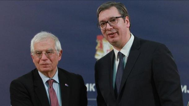 Borrell në Beograd: Ballkani Perëndimor duhet të jetë pjesë e BE-së   TRT  Shqip