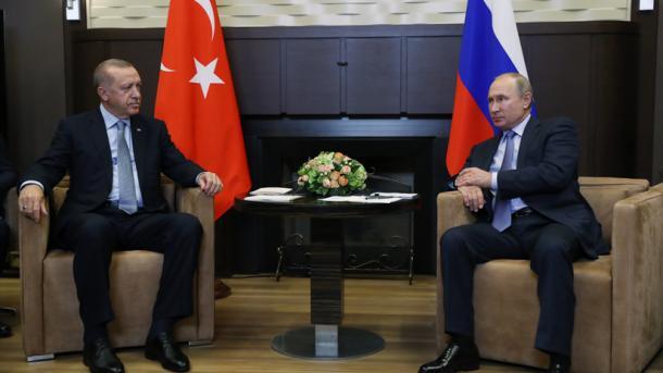 Erdogan: Do të fillojnë patrullimet turko-ruse 10 kilometra në brendësi të Sirisë | TRT  Shqip
