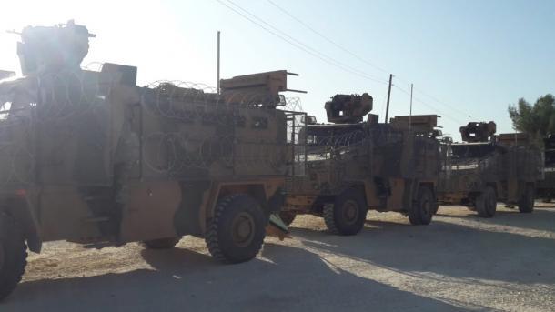 Përfundoi patrullimi i 8-të i përbashkët tokësor i trupave turko-ruse në lindje të Eufratit | TRT  Shqip