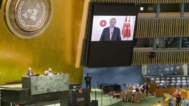 Presidenti Erdogan: Këshilli i Sigurimit të OKB-së duhet të ristrukturohet | TRT  Shqip