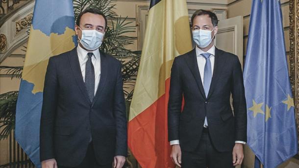 Kryeministri Kurti fillon vizitën dyditore në Bruksel   TRT  Shqip