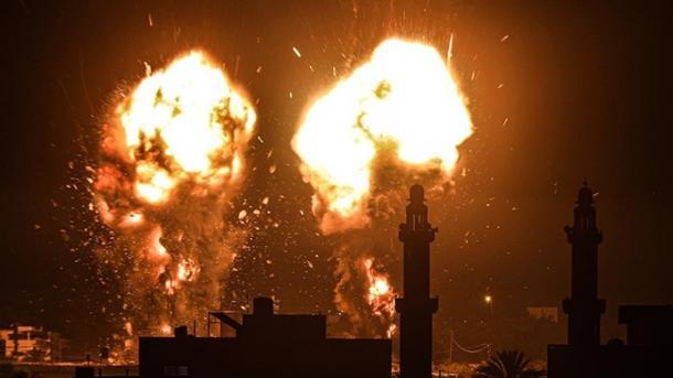 Avionët izraelitë kryejnë sulme ndaj qytetit Khan Yunus të Rripit të Gazës   TRT  Shqip