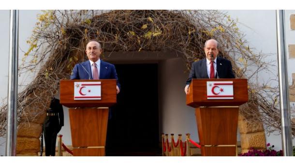 Çavusoglu: Nuk do të bëjmë kompromis për pavarësinë, sovranitetin dhe barazinë e Qipros Turke   TRT  Shqip