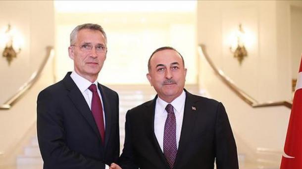 Biseda telefonike Çavusoglu-Stoltenberg pas ngjarjes në Mesdheun Lindor | TRT  Shqip