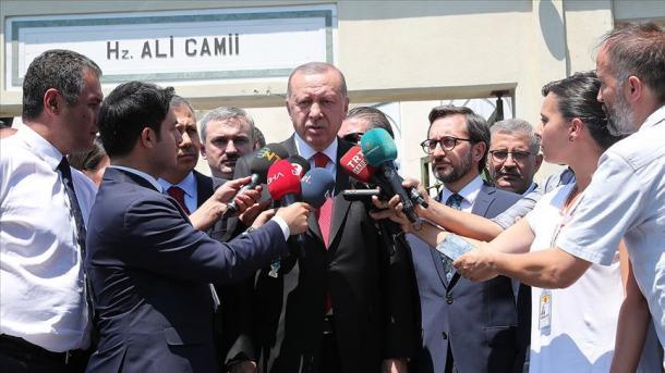 Ärdoğan öç yaqlı sammitnıñ ütkäreläçägen belderde | TRT  Tatarça