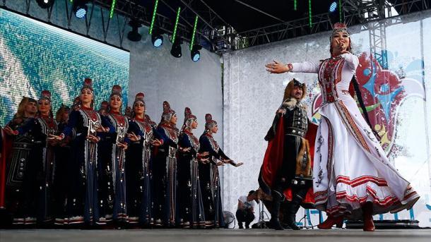 Mäskäwdä Sabantuy bäyräme | TRT  Tatarça