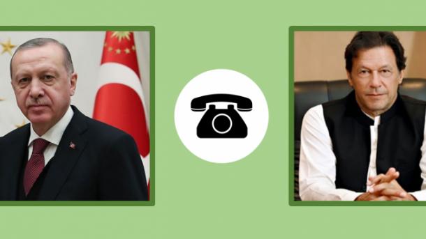 Erdogan bisedon në telefon me homologun pakistanez për Kashmirin | TRT  Shqip