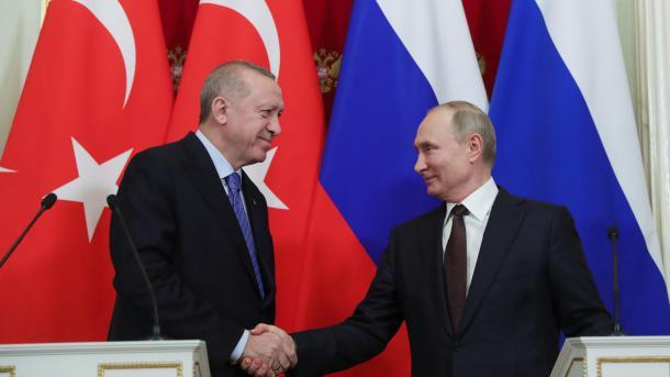 Zhvillimet në Idlib u diskutuan në bisedën telefonike Erdogan-Putin | TRT  Shqip