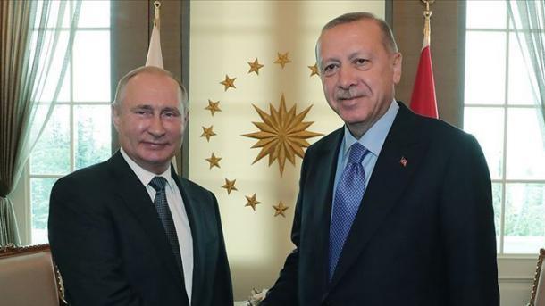 Erdogan bisedoi në telefon me Putin për situatën në Palestinë | TRT  Shqip