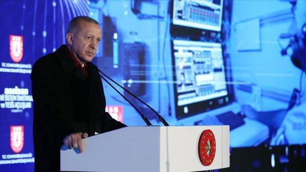 Presidenti Erdogan zotohet për zhvillimin e industrisë së mbrojtjes   TRT  Shqip