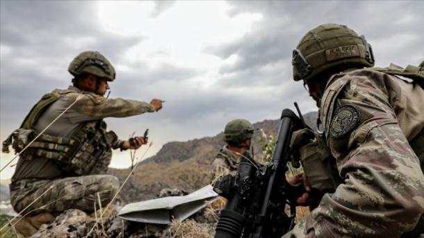 "Ushtria turke fillon operacionin ""Rrufeja-1 Cudi""   TRT  Shqip"