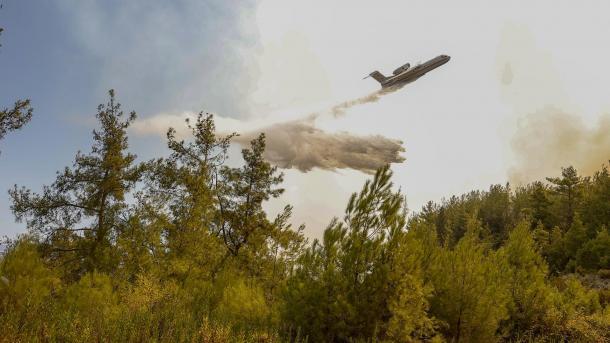Zjarret në Turqi – Azerbajxhani e Katari dërgojnë mbështetje shtesë, BE e gatshme për shumë ndihmë   TRT  Shqip