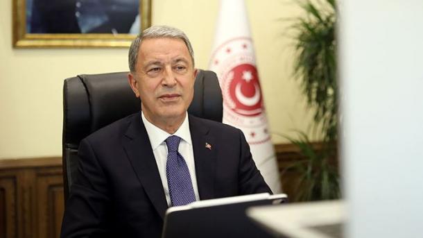 Hulusi Akar: Turqia ka marrë çdo masë për mbrojtjen e të drejtave dhe interesave në Mesdheun Lindor | TRT  Shqip