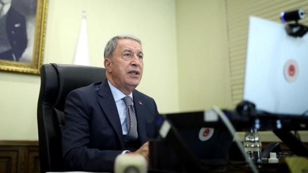 Akar: Turqia do të qëndrojë pranë qeverisë legjitime libiane | TRT  Shqip