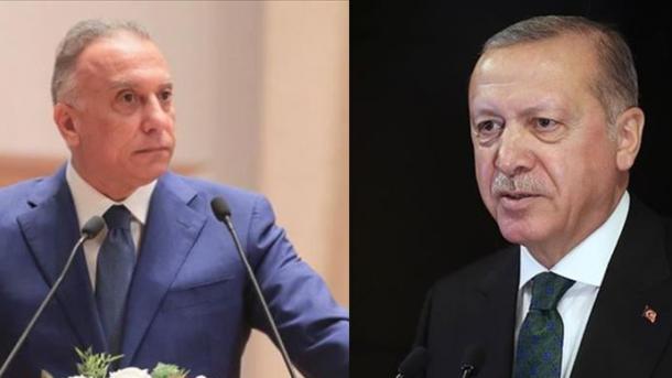 Presidenti Erdogan bisedoi me Kryeministrin e ri të Irakut, Mustafa al-Kadhimi | TRT  Shqip