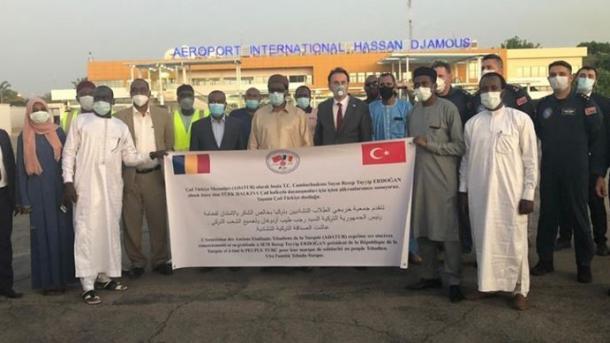 Ndihmat turke me materiale mjekësore mbërrijnë në Çad | TRT  Shqip