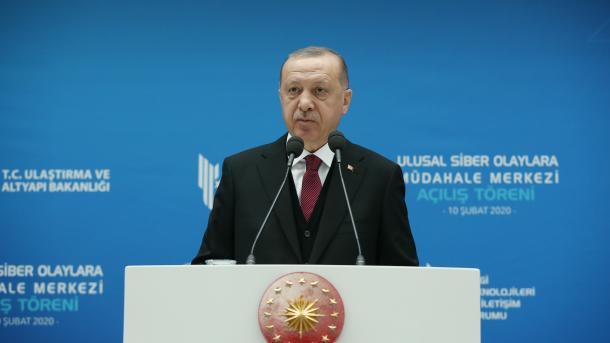 Erdogan: Do ta bëjmë Turqinë një markë globale në sigurinë kibernetike | TRT  Shqip