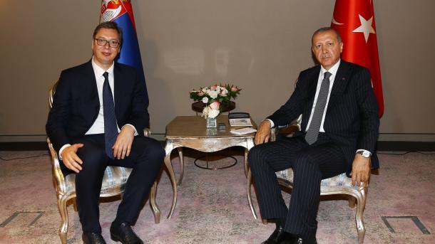 Erdogan dhe Vuçiç zhvillojnë një bisedë telefonike | TRT  Shqip
