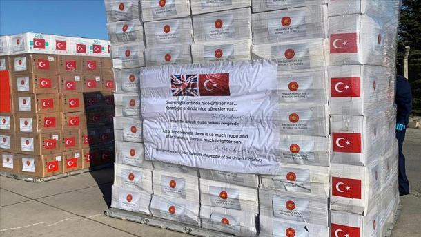 Turqia dërgon grupin e dytë me ndihma mjekësore në Angli | TRT  Shqip