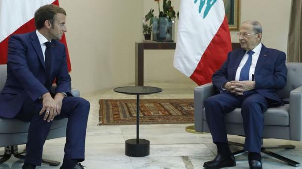 Liban – Presidenti Aoun i kërkon homologut Macron pamjet satelitore të shpërthimit në Bejrut   TRT  Shqip