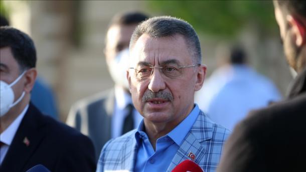 Zëvendëspresidenti Oktay: Jerusalemi do të mbetet kryeqyteti i Palestinës   TRT  Shqip