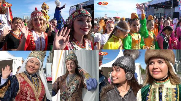 Başqala Qazanda Tatarstan xalıqları duslığı festivale | TRT  Tatarça