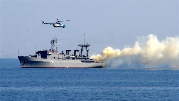 Flota detare ruse vazhdon stërvitjen ushtarake në detin e Zi   TRT  Shqip