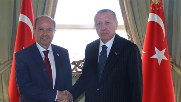 Erdogani bisedon në telefon me Tatarin, në fokus çështja e Qipros dhe pandemia | TRT  Shqip