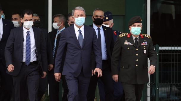 Ministri turk i Mbrojtjes viziton Libinë   TRT  Shqip