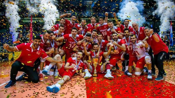 Volejboll – Turqia kampione e Ligës së Artë të CEV 2019 | TRT  Shqip