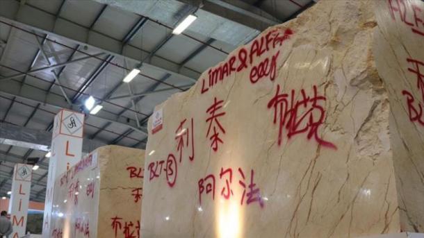 Turqia eksportoi në Kinë 5 milionë tonë mermer | TRT  Shqip