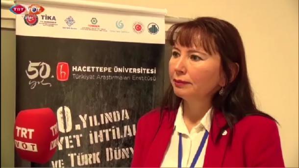 Professor Ramilä Yarullina Yıldırım   TRT  Tatarça