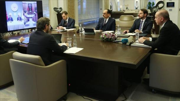 Presidenti Erdogan optimist për një trend në rënie të pandemisë COVID-19 në prill   TRT  Shqip