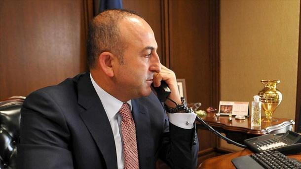 Çavusoglu zhvilloi një bisedë telefonike me Ministrin e Punëve të Jashtme të Koresë së Jugut | TRT  Shqip