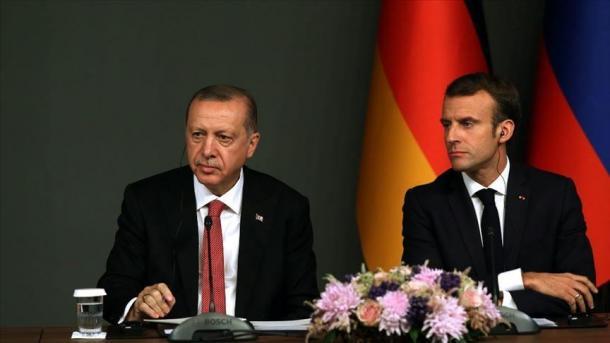 Biseda Erdogan-Macron, në qendër lufta kundër epidemisë së koronavirusit | TRT  Shqip