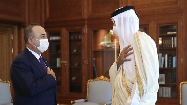 Ministri Çavusoglu për vizitë në Katar, zhvillon takime të rëndësishme | TRT  Shqip