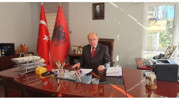 Ankara - Mesazhi i Ambasadorit të Shqipërisë për Festën Kombëtare   TRT  Shqip