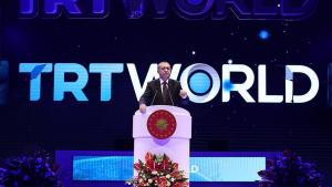 Prezident Rejep Taýýip Erdogan  TRT World Forum 2020-de