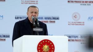 """Erdogan: """"La Turquie restera en Libye jusqu'à ce que le gouvernement légitime soit en sécurité"""""""