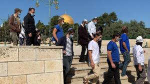 Incursion des juifs ultra-orthodoxes à la mosquée al-Aqsa
