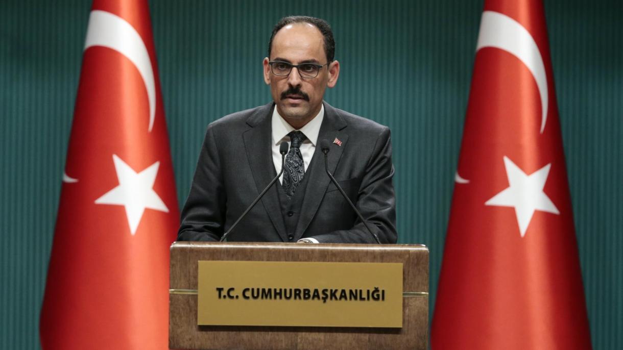 Kalin: Turska nema pretenzije ni nad čijim teritorijima, ali svoje ne damo