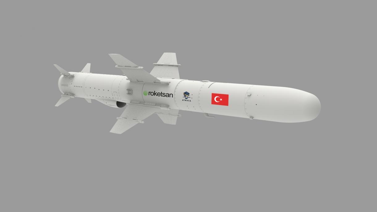 トルコ初の海洋発射巡航ミサイル「アトマジャ」