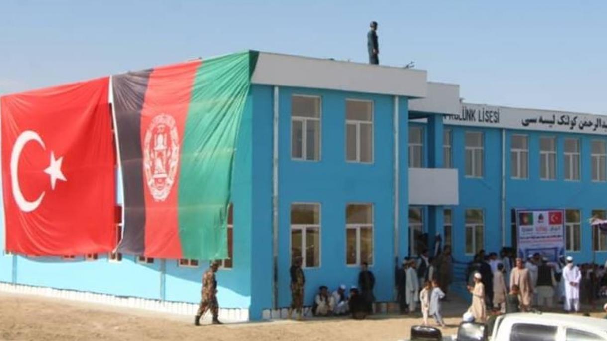 Sekolah Yang Dibina oleh Doktor Turki di Afghanistan, Dibuka