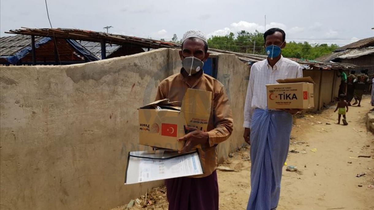Turska razvojna agencija TIKA  uručila pakete pomoći napaćenim muslimanima Arakana