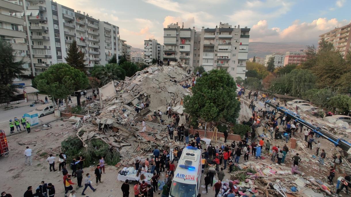 Tërmeti në Izmir, arrin në 25 numri i personave që kanë humbur jetën