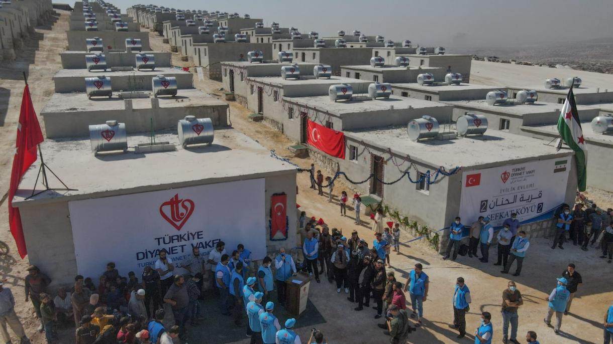 Uz podršku turske Fondacije Diyanet 600 porodica u Idlibu dobilo krov nad glavom
