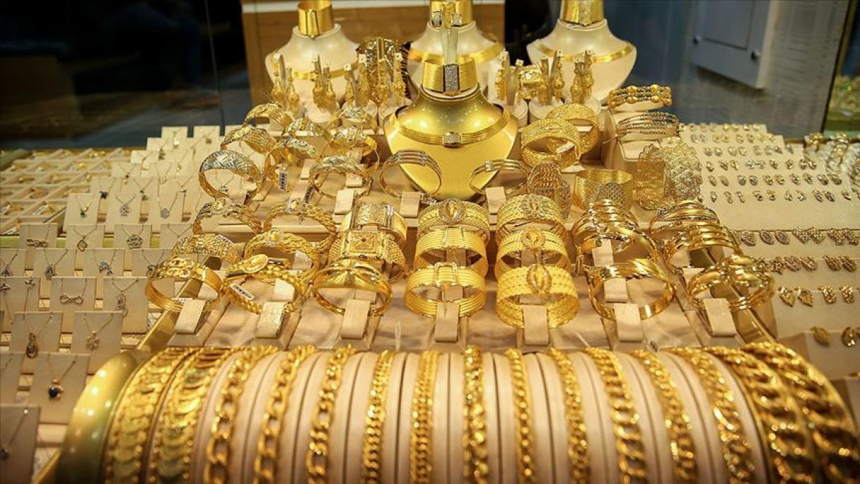 Turska prošlog mjeseca izvezla preko 300 miliona dolara zlata i nakita